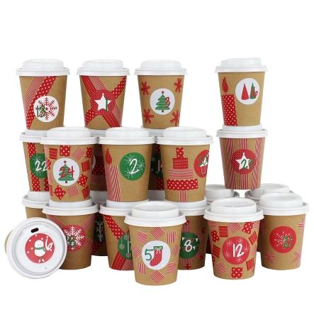 DIY Advent Calendar Coffee Mug – for DIY Crafts and fill Inspirieren von hochzeitseinladungen selber basteln set